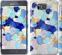 """Чехол на Samsung Galaxy Alpha G850F Холст с красками """"2746m-65"""""""