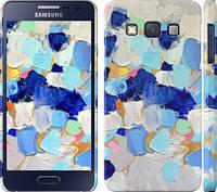 """Чехол на Samsung Galaxy A3 A300H Холст с красками """"2746m-72"""""""