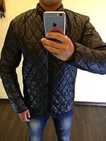 Куртка мужская стеганая черная 11287, фото 1