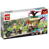 """Конструктор Lepin Angry Birds """"Кража яиц с Птичьего острова"""" арт.19003 (аналог LEGO 75823) , 305 дет"""