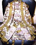 Рюкзак рыболовный непромокаемый, 20л, цвет пиксель, фото 5