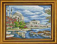 """Схема для вышивания бисером на атласе """"Ханский дворец в Стамбуле"""" АЕ-384"""