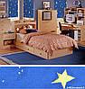 Рулонные шторы Ночь, фото 3