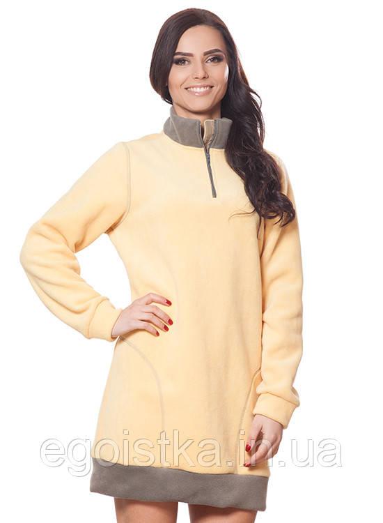 Демисезонное стильное женское платье, фото 1