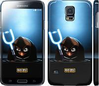"Чехол на Samsung Galaxy S5 Duos SM G900FD Angry birds. Star wars ""545c-62"""