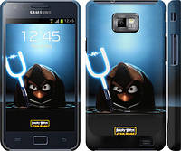 "Чехол на Samsung Galaxy S2 i9100 Angry birds. Star wars ""545m-14"""