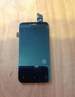 Оригинальный дисплей (модуль) + тачскрин (сенсор) для Fly IQ442 Quad Miracle 2 (черный цвет)