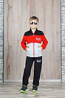 """Спортивный костюм для мальчика 7-11 лет,""""Coastal"""" красный"""