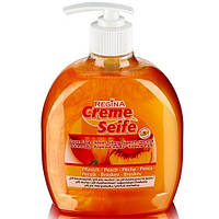 Жидкое концентрированное крем-мыло Regina «Персик» 500 мл.