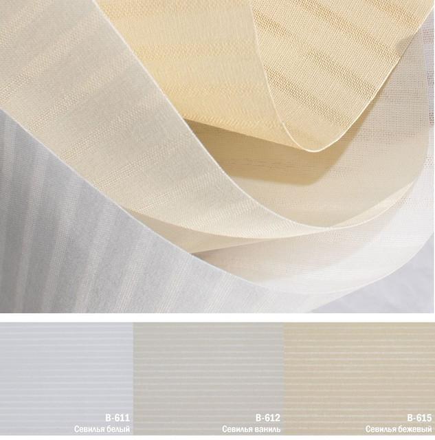 Рулонные шторы Севилья