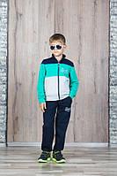 """Спортивный костюм для мальчика 7-11 лет,""""Coastal"""" бирюзовый, фото 1"""
