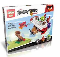 "Конструктор Lepin Angry Birds ""Самолетная атака свинок"" арт. 19002 (аналог LEGO 75822), 185 дет"