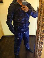 Спортивный мужской костюм плащевка теплый 11292, фото 1
