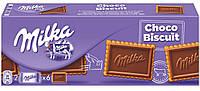 Печенье Milka Choco Biscuit с молочным шоколадом, 150 г, фото 1