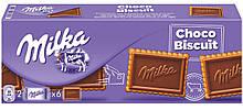 Печенье Milka Choco Biscuit с молочным шоколадом, 150 г