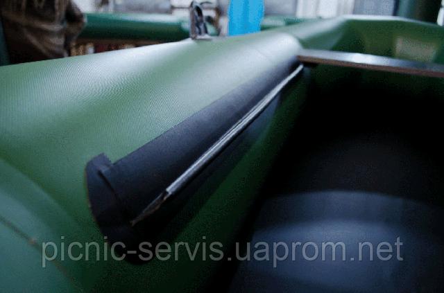 Лыжа для скользящего сиденья (баночный леер, ликторс), 1 см для надувной лодки Барк