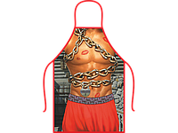 Прикольный фартук Козака в цепях