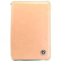 Чехол-книжка для Apple iPad mini 4, iPad Mini 3, iPad Mini 2, iPad mini, кожаный, Beats, розовый /flip case/флип кейс /айпад