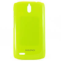 Чехол-накладка для Huawei Ascend G610, пластиковый, Buble Pack, Лайм /case/кейс /хуавей