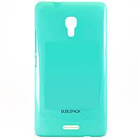 Чехол-накладка для Huawei Ascend Mate 2, пластиковый, Buble Pack, Бирюзовый /case/кейс /хуавей