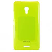 Чехол-накладка для Huawei Ascend Mate 2, пластиковый, Buble Pack, Лайм /case/кейс /хуавей