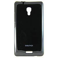 Чехол-накладка для Huawei Ascend Mate 2, пластиковый, Buble Pack, Черный /case/кейс /хуавей
