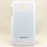 Чехол-накладка для LENOVO S750, пластиковый, Buble Pack, Белый /case/кейс /леново