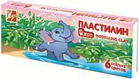 "Пластилин Луч 6 цв. ""Zoo"" 81 гр."