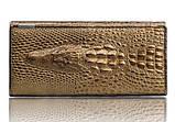 Женский кожаный кошелек Крокодил Aligator. Гаманець жіночий шкіра. Оцени качество!, фото 4