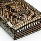 Женский кожаный кошелек Крокодил Aligator. Гаманець жіночий шкіра. Оцени качество!, фото 5