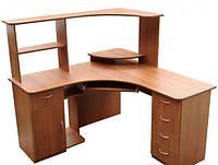 Угловой стол для компьютера на заказ