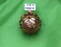 Новогодняя игрушка Шар Т026/15, фото 1