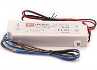 LPV-35-12 Источник питания постоянного напляжения 35Вт 12В IP67