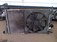 Радиатор с вентилятором Дэу Нексия / Daewoo Nexia б/у