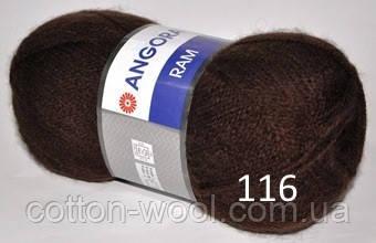 Yarnart Angora Ram 116  40% мохер, 60% акрил
