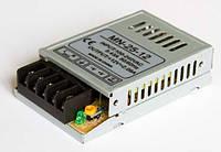 Блок питания 12V 25W (2A) постоянное напряжение, металлический корпус