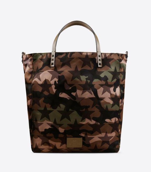 Мужская сумка-тоут Camustars от Valentino Garavani