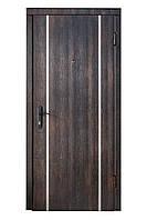 """Входная дверь тик темный+ """"Молдинг"""""""