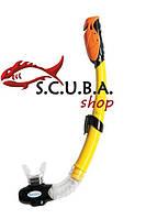 Трубка для плавания с клапаном INTEX Dry Top, цвет желтый (55923)