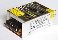Блок питания 12V 48W (4A) постоянное напряжение, металлический корпус