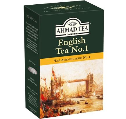 """Чай чёрный Ahmad Tea  """"Английский № 1"""" 100 г."""