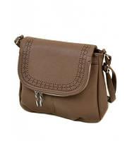 Женская сумка светло-коричневая