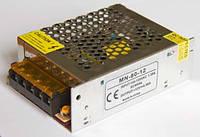 Блок питания 12V 80W (6.6A) постоянное напряжение, металлический корпус