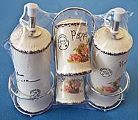 Набор для специй Maestro (5 предметов), материал - керамика.
