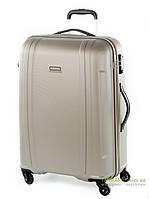 Дорожный чемодан из поликарбоната на 4-х колесах (большой) Puccini PC015 8804 золотого цвета