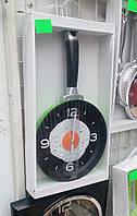 Настенные часы кухонные в виде сковородки