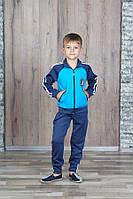 Спортивный костюм для мальчика 7-11 лет, голубой, фото 1