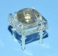 Светодиод SUPER FLUX 7,6*7,6мм синий 0,75-1,12cd OSB56LZ5D1P  OptoSupply