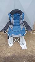 Складное кресло для рыбалки с регулируемым наклоном спинки