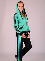 Спортивный костюм для девочки Комби-лампас